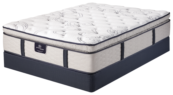 MoonRidge Super Pillow Top Twin Set,Serta Mattresses