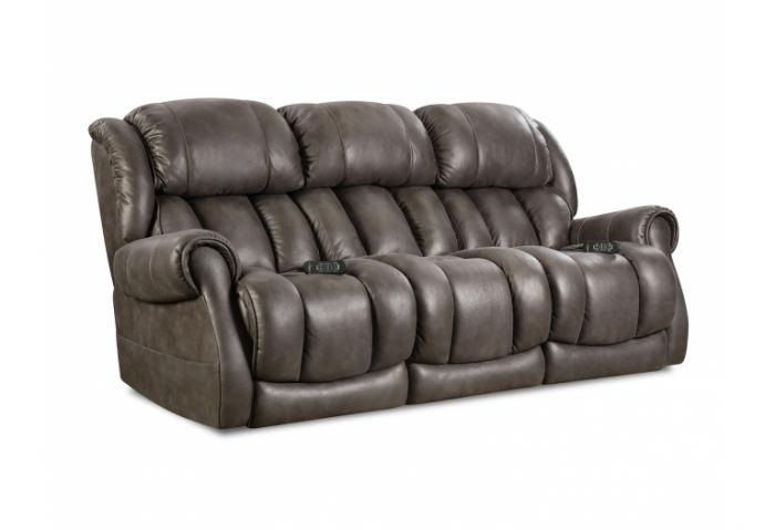 Double Reclining Power Sofa,HomeStretch