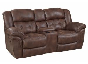 Image for Reclining Console Loveseat