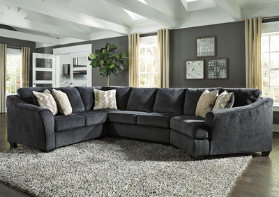 Eltman Slate Sectional