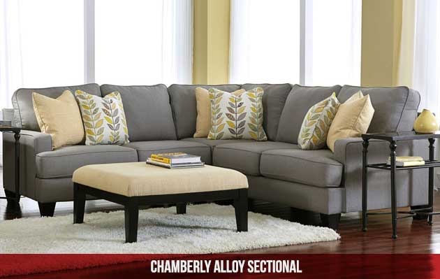 Chamberly Alloy Sectional