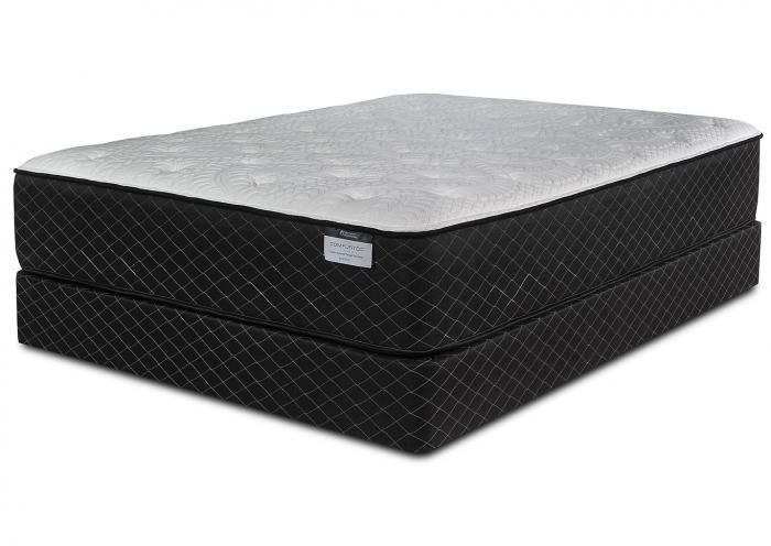 Harlow Plush King Mattress w/Foundation,Symbol Mattress