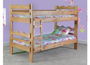 Twin/Twin Bunk Bed w/Mattresses