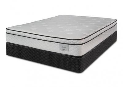 Shelton Pillow Top King Mattress w/ Foundation