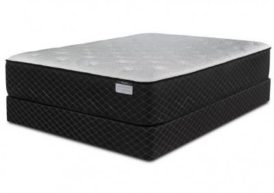 Harlow Plush Twin Mattress w/Foundation