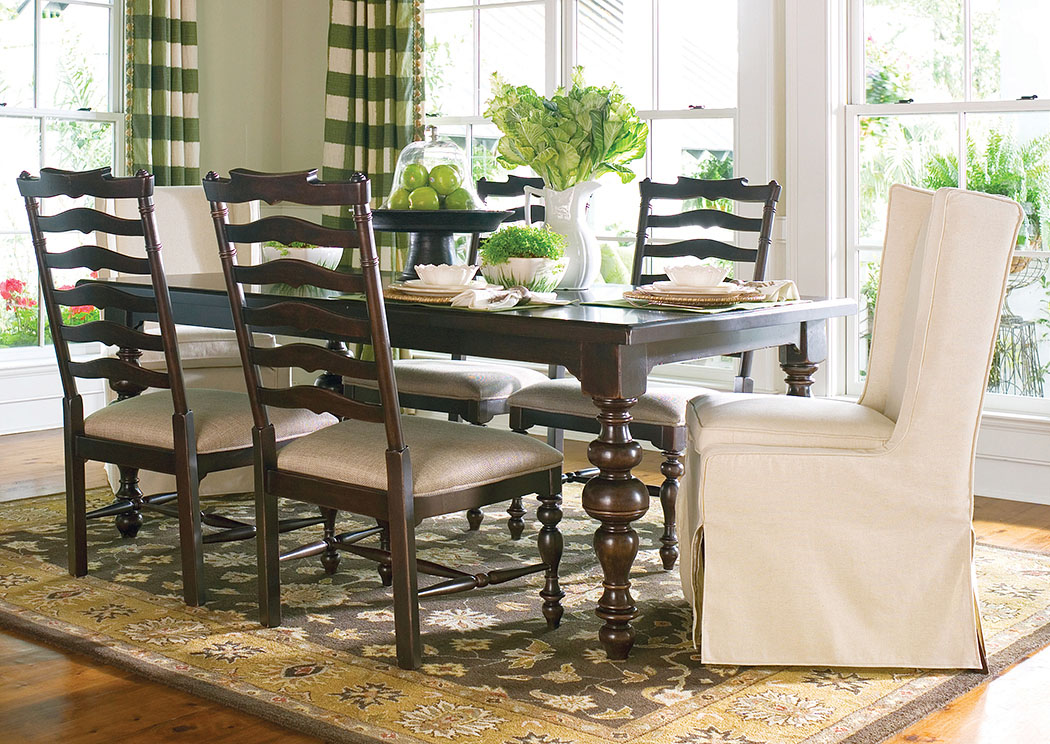 Squan Furniture Paula Deen Tobacco Rectangle Dining Table