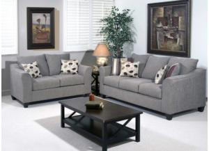 Serta Flyer Metal Sofa & Loveseat