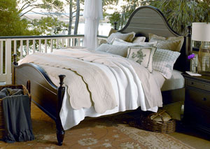 Paula Deen Down Home Molasses Low Post California King Bed
