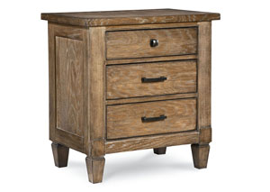 Brownstone Village Aged Patina Nightstand