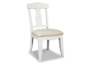 Madison Natural White Painted Desk Chair