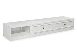 Madison Natural White Painted Underbed Storage Drawer