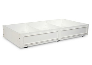 Madison Natural White Painted Trundle/Storage Drawer
