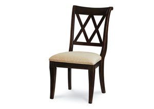 Thatcher Amber X Back Side Chair