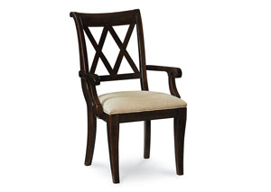 Thatcher Amber X Back Arm Chair
