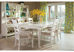 Sea Breeze 7 Piece Dining Room Set