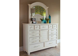 Sea Breeze Retreat Dresser with Mirror