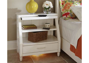 Sea Breeze Shelf Nightstand