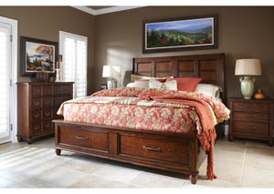 Blue Ridge Homestead Queen Storage Bed