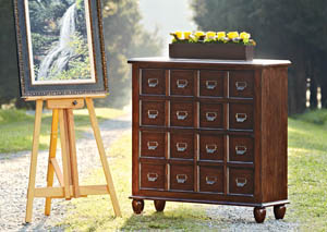 Blue Ridge Apothecary Chest