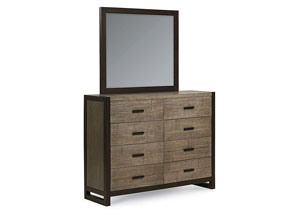 Image for Helix Charcoal & Stone Bureau/Mirror