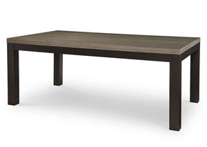 Image for Helix Charcoal & Stone Leg Table