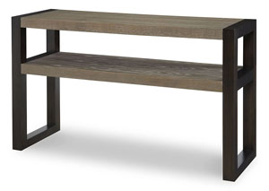 Image for Helix Charcoal & Stone Sofa Table