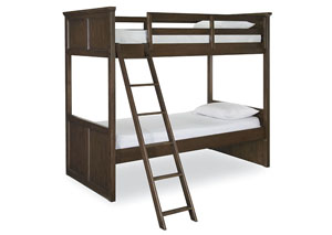 Kenwood Suede Bunk Bed Twin