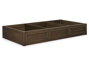 Kenwood Suede Trundle/Storage Drawer