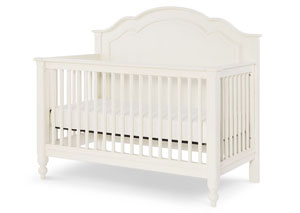 Harmony by Wendy Bellissimo Antique Linen White Toddler Daybed and Guard Rail