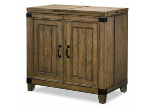 Metalworks Factory Chic Bar Cabinet