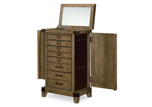 Metalworks Factory Chic Jewelry Chest