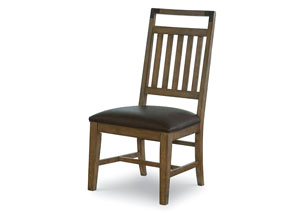 Metalworks Factory Chic Splat Back Side Chair