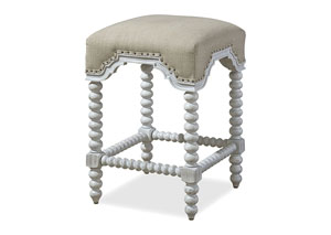Dogwood Blossom Kitchen Stool