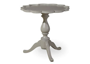 Dogwood Cobblestone Pie Crust Table