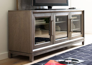 Highline Greige Entertainment Console