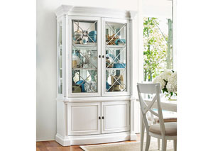 Upstate Bianco Display Cabinet