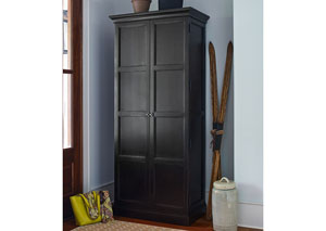 Image for Upstate Nero Utility Cabinet