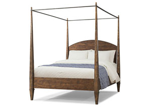 Jasper Queen Canopy Bed