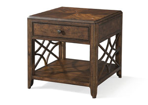 Image for Georgia Rain One Drawer End Table