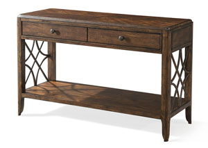 Image for Georgia Rain Drawer Sofa Table