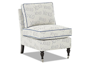 Trixie Armless Chair Slipcover