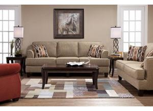 Serta Bang Bang Beachglass Sofa & Loveseat