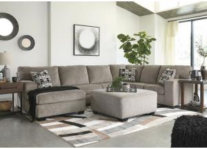 Ballinasloe Platinum 3 piece LAF Chaise sectional