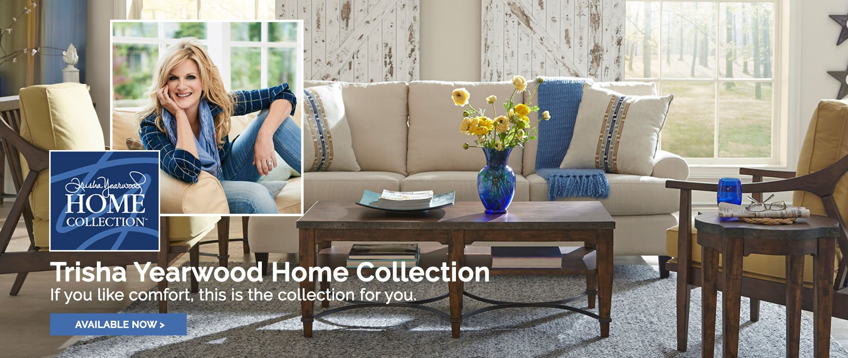 Trisha Yearwood Home Collection at Squan