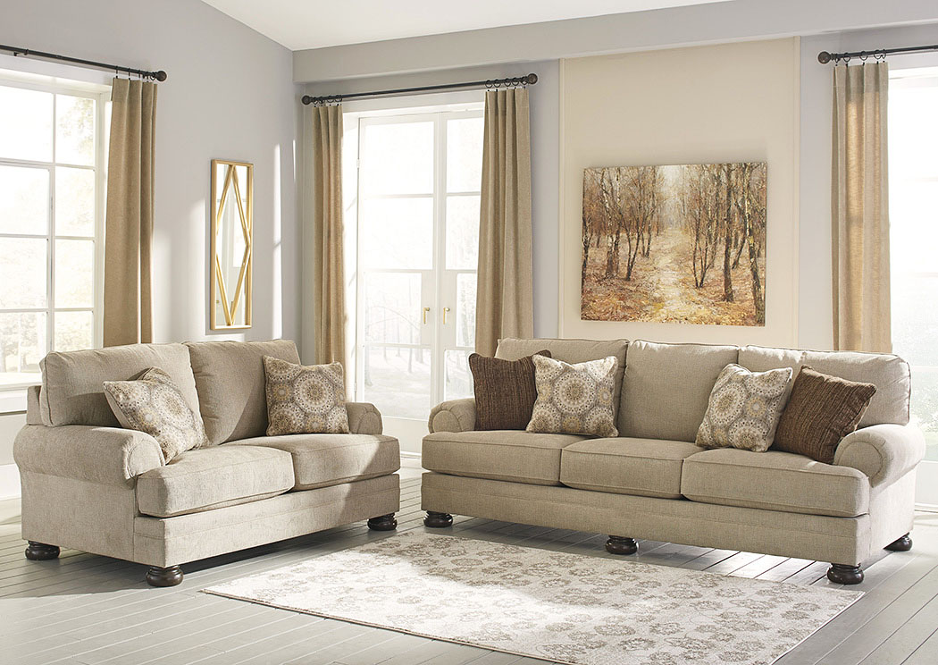 Quarry Hill Quartz Sofa and Loveseat