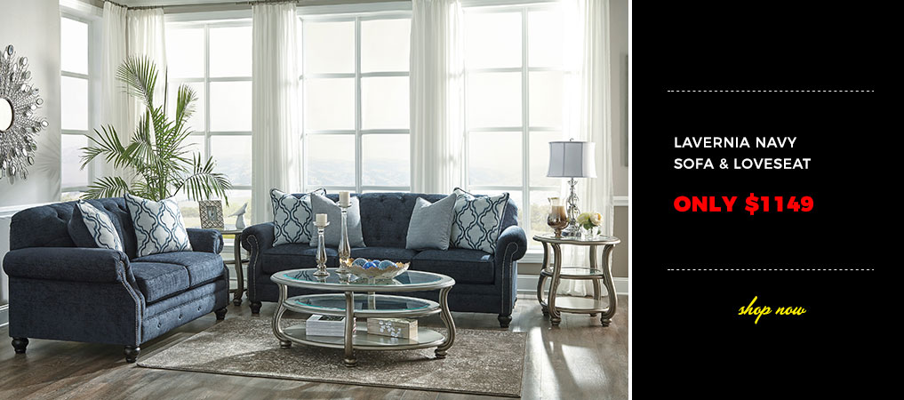 We Sell Ashley Furniture - Low Overhead = Huge Savings up to 70%