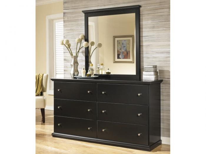 MB4 Cottage Black Dresser & Mirror,Taft Furniture Showcase