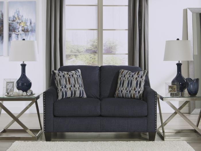 Stainglass Ink Loveseat,Taft Furniture Showcase