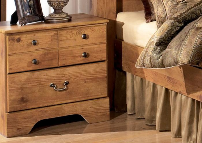 MB9 Light Pine Country Nightstand,Taft Furniture Showcase