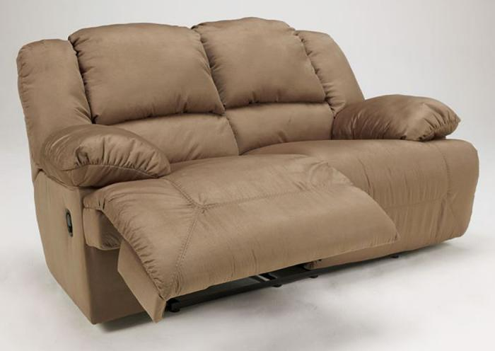 LR13 Mocha Plush Reclining Loveseat,Taft Furniture Showcase